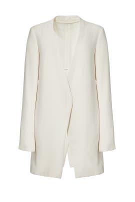 White Winola Jacket by Theory