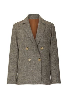 Pebble Texture Wool Blazer by VINCE.