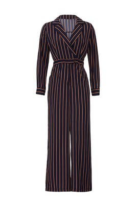 Wide Leg Button Front Jumpsuit by ASTR