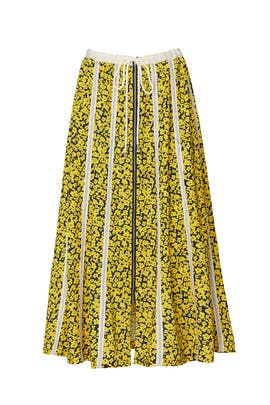 Striped Drawstring Skirt by Derek Lam Collective