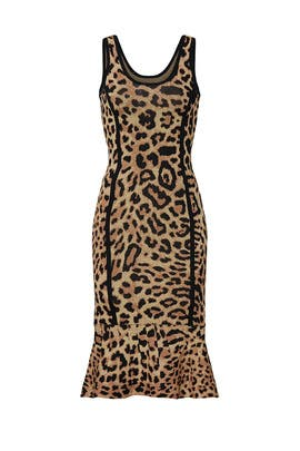 Leopard Knit Sheath by Great Jones