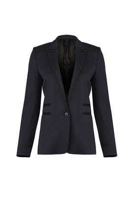 327b1ce8cb07df Navy Suit Jacket by The Kooples for $95 | Rent the Runway