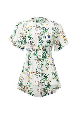 Botanical Arden Blouse by Marissa Webb