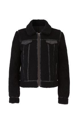 Clark Faux Shearling Jacket by Rebecca Minkoff