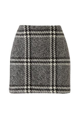 Plaid Kym Skirt by Rachel Zoe
