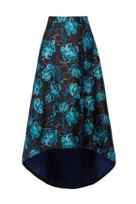 Floral Ball Skirt by Sachin & Babi