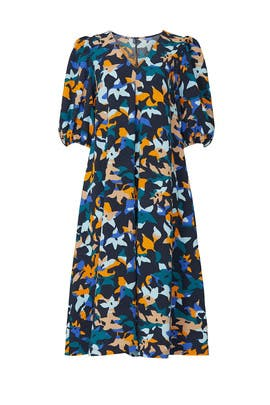 Printed Mavelin Dress by STINE GOYA