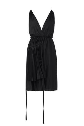 Grecian Pleated Dress by Tome