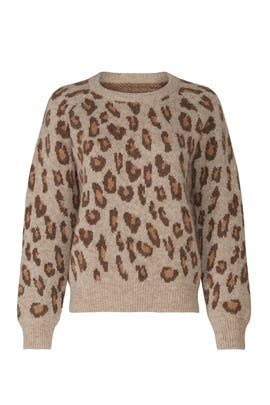 Esther Leopard Sweater by A.P.C.