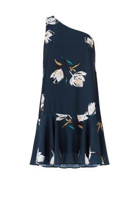 Floral Painted Drop Waist Dress by Amanda Uprichard