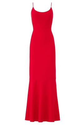Red Cameron Gown by Hutch