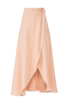 Ballerina High Low Skirt by Miguelina