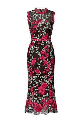 Embroidered Lace Sheath by Marchesa Notte