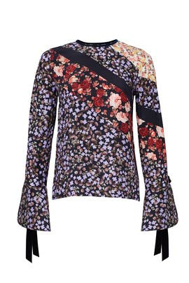 Mash Up Floral Top by Mother of Pearl