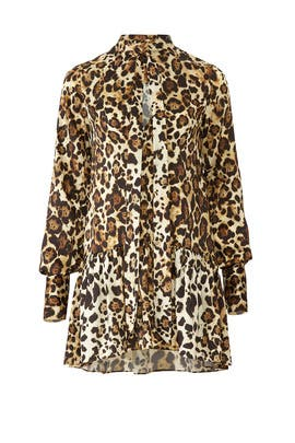 Leopard Lydia Dress by Alexis