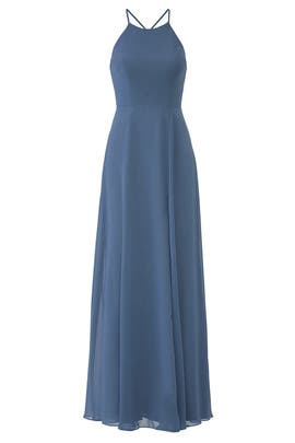 a94d5c22d Slate Blue Kayla Gown by Jenny Yoo for $30 - $40 | Rent the Runway