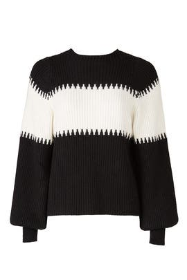 Cocoon Sleeves Sweater by Moon River