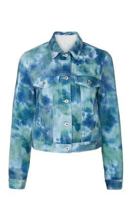Tie Dye Denim Jacket by 3.1 Phillip Lim