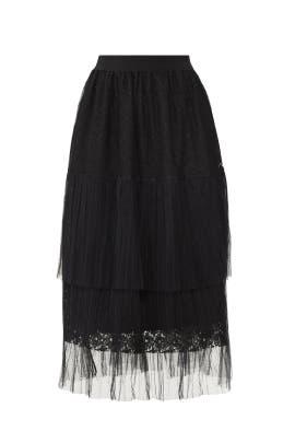 Macie Lace Midi Skirt by RAGA