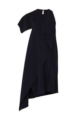 01be4af45e3 Asymmetric Cross Front Dress by Rosetta Getty