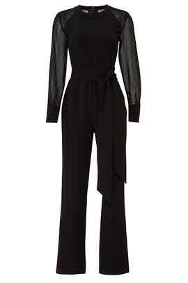 Chiffon Sleeve Jumpsuit by RACHEL ROY COLLECTION