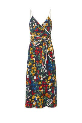 Floral Grotto Wrap Dress by Tory Burch