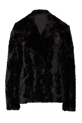Short Faux Fur Jacket by Fifteen Twenty