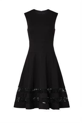 Combo Lace Flounce Dress by Jason Wu Collective