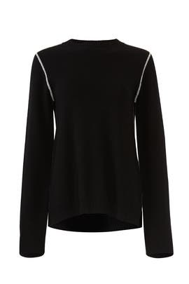 Black Pullover Sweater by Michael Stars