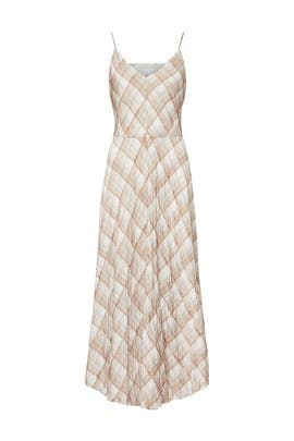 Hazy Plaid Maxi by VINCE.