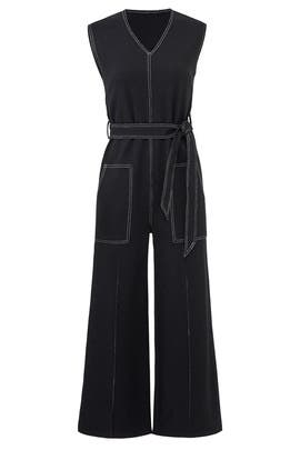 Denim Playdate Jumpsuit by CAARA