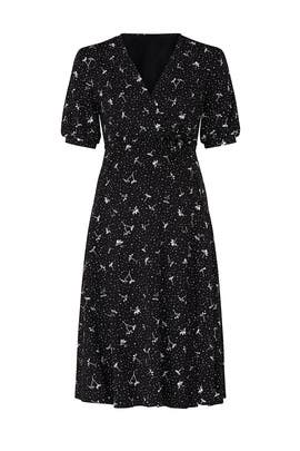 Evie Maternity Wrap Dress by Isabella Oliver