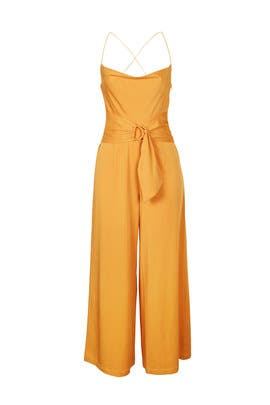 Marigold Cowl Neck Jumpsuit by MINKPINK