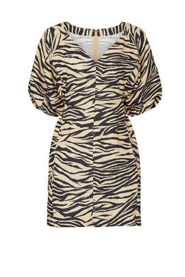 Zebra Mini Dress by Nicholas