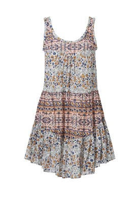 Rose Grey Flutter Dress by See by Chloe