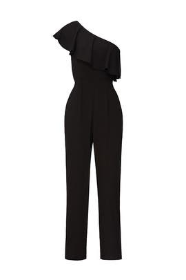 Black Cascade Jumpsuit by Yumi Kim