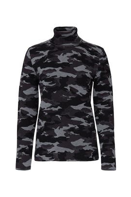 Camo Matterhorn Turtleneck by Aztech Mountain
