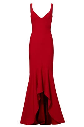 Red Sade Gown By Cinq à Sept For 85 110 Rent The Runway