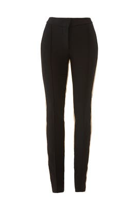 Slim Tuxedo Stripe Trousers by DEREK LAM