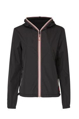 Black Original Shell Jacket by Hunter