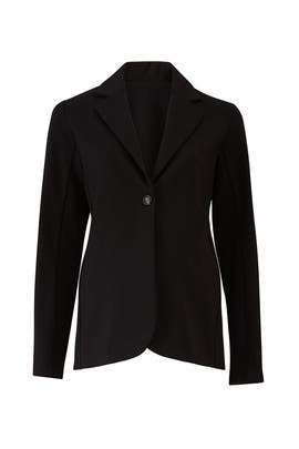 Adjustable Waist Maternity Knit Blazer by Ingrid & Isabel