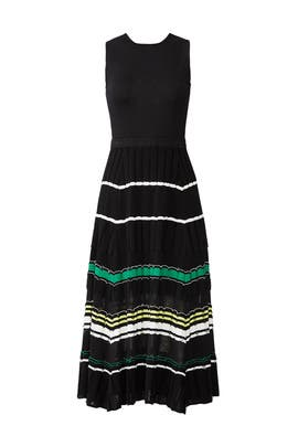 Sleeveless Waisted Knit Dress by Proenza Schouler