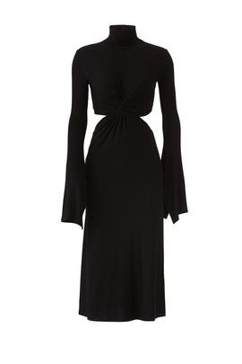 Classic Twist Cutout Dress by Sid Neigum