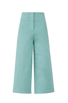 Dyed Wide Leg Jeans by Tibi