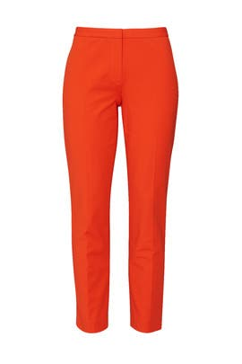 Fire Opal Classic Skinny Pants by Theory