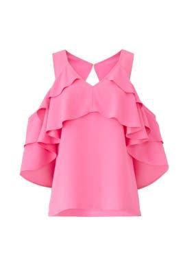 Pink Sebastapol Top by Trina Turk
