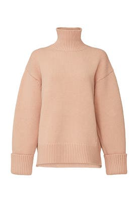 Relaxed Funnel Neck Sweater by Victoria Victoria Beckham