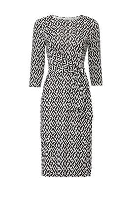 Pearl Wrap Dress by Diane von Furstenberg