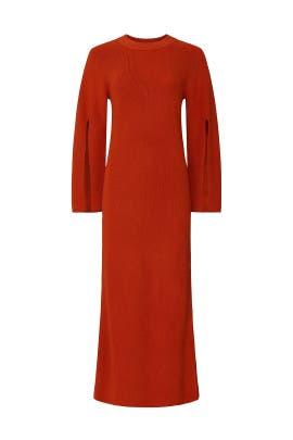 Orange Knit Dress by Great Jones