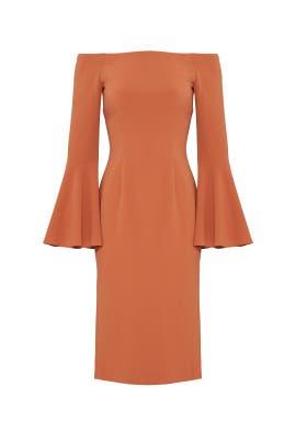 Orange Harmony Dress by Keepsake